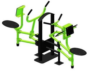 Тренажер для мышц бицепса Рычажная тяга УК 229