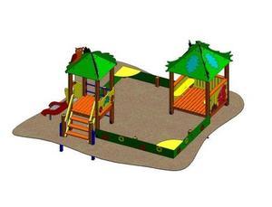 Песочный дворик ДП433