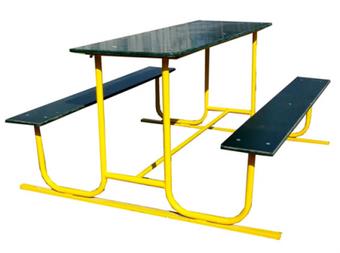 Стол со скамейками ДП313