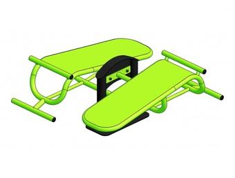 Тренажер для мышц брюшного пресса УТ1313