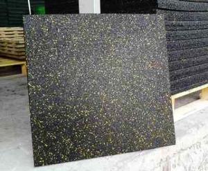Резиновая плитка ECOFLEX-SPORT  12-50 мм