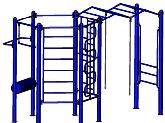 Гимнастический комплекс ДП1034