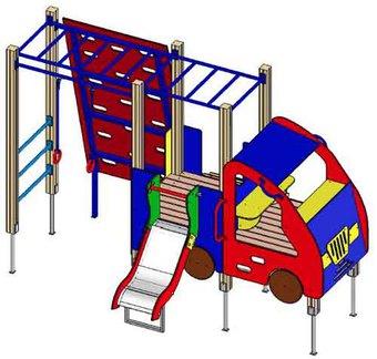 Игровой комплекс Авто ДП812